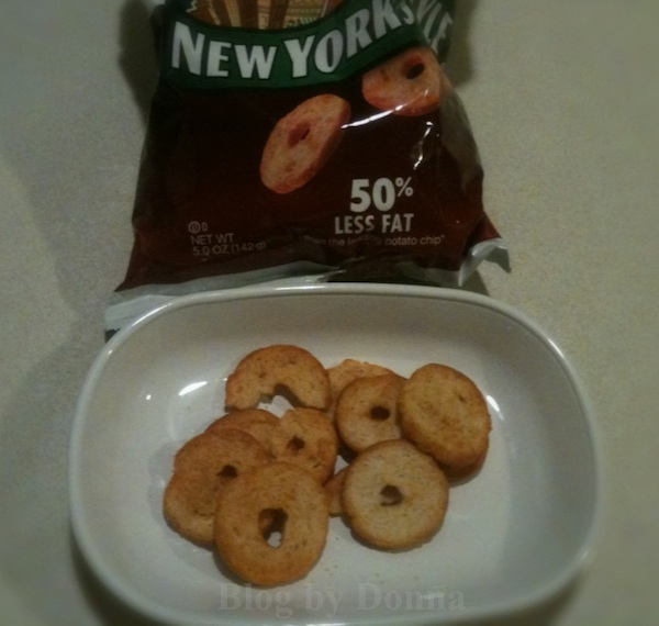 BBQNewYorkStyle New York Style Bagel Crisps Review & Sweepstakes