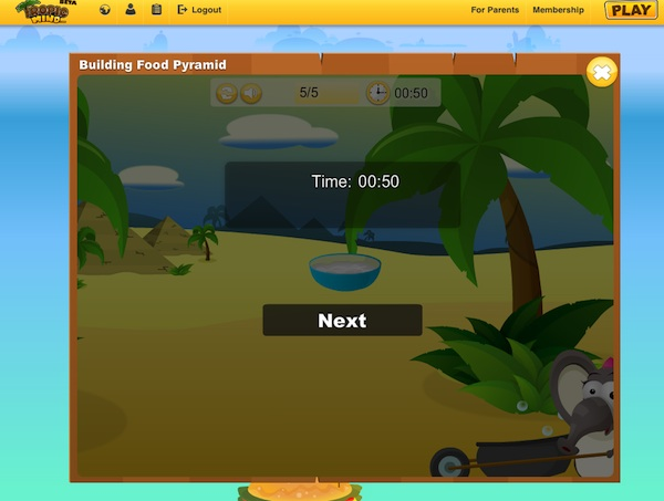 Tropical Mind Virtual World Game