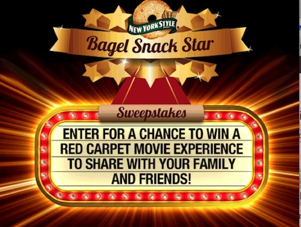 NewYorkStyleFBSweepstake1 New York Style Bagel Crisps Review & Sweepstakes