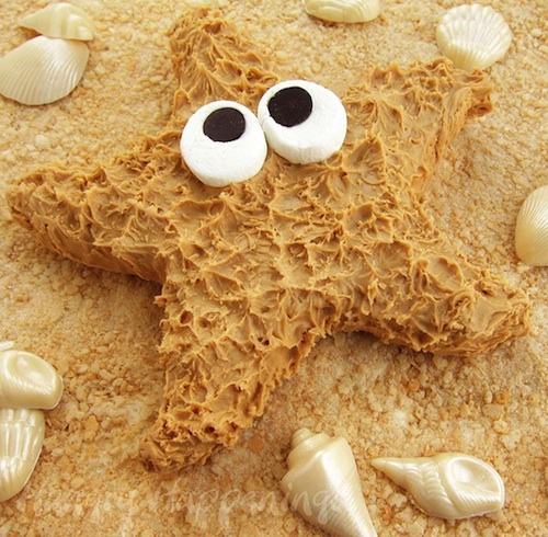 PeanutButterStarfish 4 Fun and Jaw Dropping Beach Themed Recipes