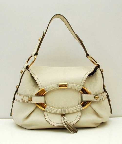 TodsWhiteLeatherBag #WinThisBag Week #3 is a Tods White Leather Handbag Ends 7/16