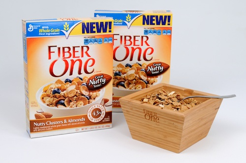 Fiber One Nutty Clusters Almonds prize pack photo Fiber One Nutty Clusters & Almonds   A Perfect Way to Start Your Day