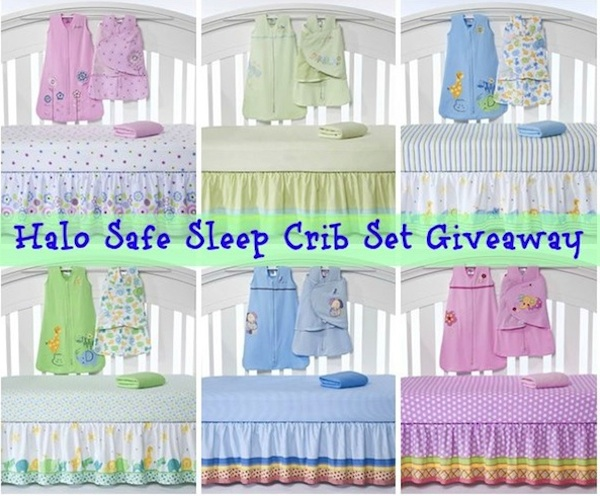 HaloSafeCribSetGA1 HALO Safe Sleep Crib Set (ARV $115) Give Away #babygifts