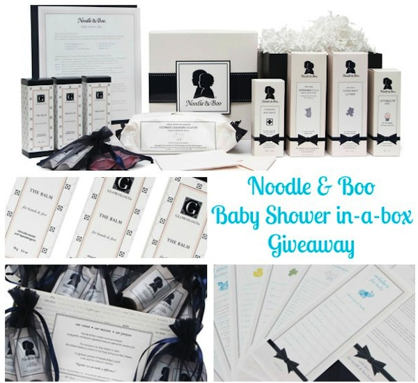 NoodleandBooGA Noodle and Boo Give Away #babygifts