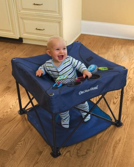 OneStepGA1 KidCo Go Pod Portable Activity Center Giveaway #babygifts