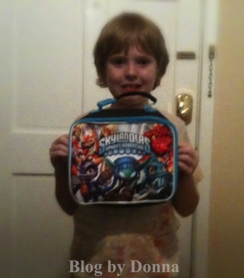 SkylanderLunchBoxCody Skylanders Lunch Bag   Back to School Review