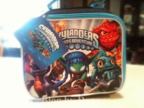 SkylanderLunchbox Skylanders Lunch Bag   Back to School Review