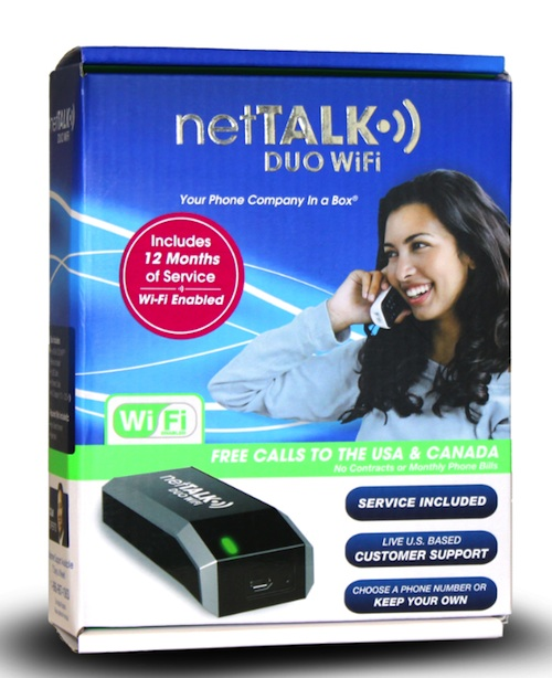 netTalkPackage netTalk DUO Wi Fi Makes Home Phone Service Affordable