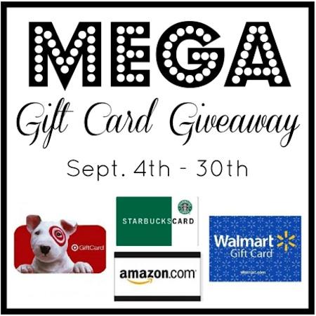 MegaGCGiveaway Mega Gift Card Giveaway (4 Winners)