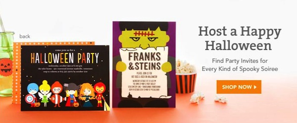 TinyPrintsHalloweenPost Halloween & Thanksgiving Invitations from Tiny Prints