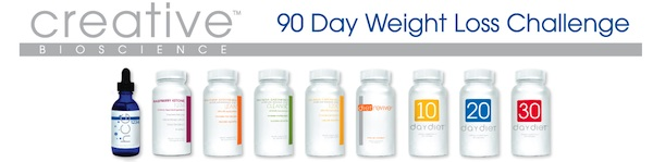 CreativeBioscience90DayChallenge My 90 Day Weight Loss Challenge, Creative BioScience, and Final Thoughts