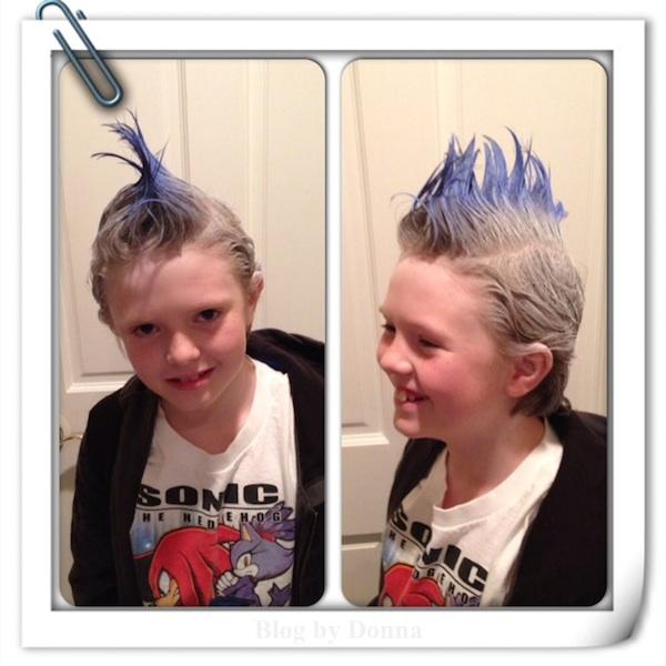 Crazy Hair Day idea