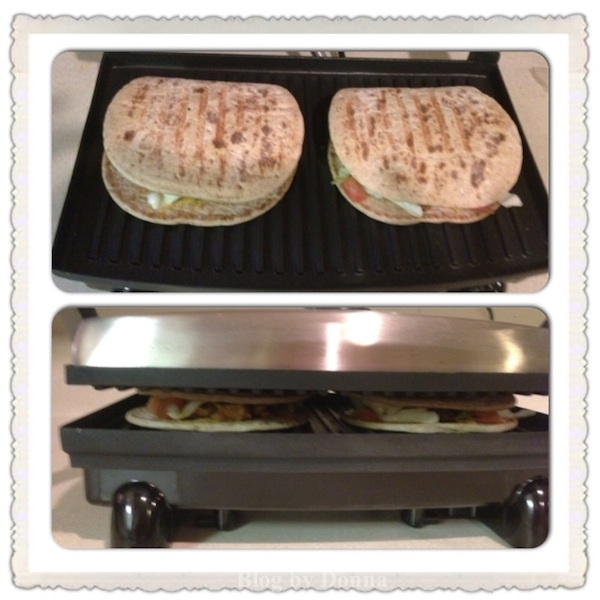 PressTime Hungry Girl FoldIt Flatout Flatbread Hot Sandwich & Cold Sandwich Recipe #FlatoutHot