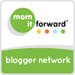#MomItForward Badge