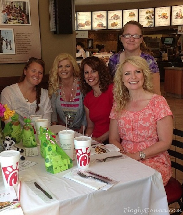 Chick-fil-A Salad Tasting Party