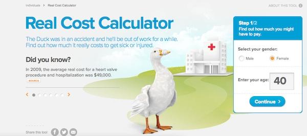 Real Cost Calculator