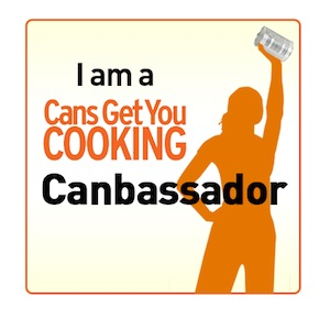 Cans Get You Cooking Ambassador Badge #cansgetyoucooking