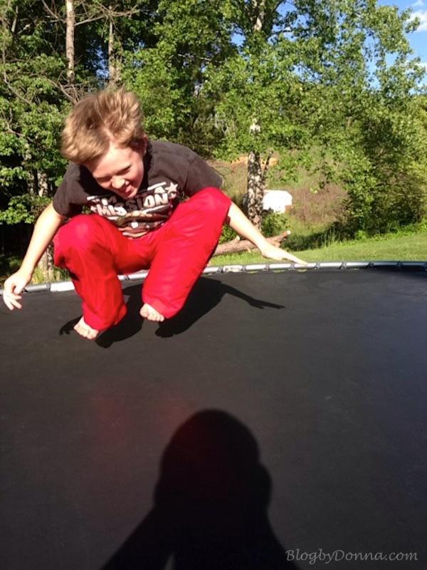 Fun on Trampoline 3