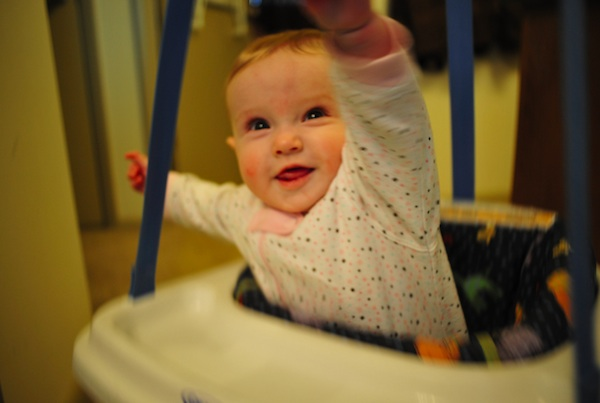 great ways to keep baby occupied while you work out