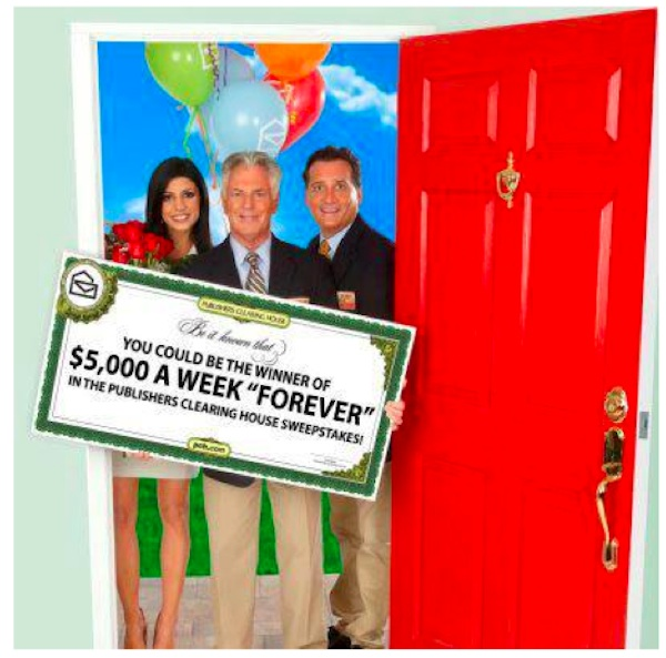 PCH MomCentral Post Img Win $5,000 a Week.... for Life with Publishers Clearing House #sponsored