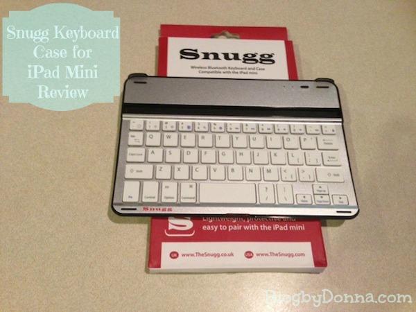 Snugg bluetooth keyboard case ipad mini