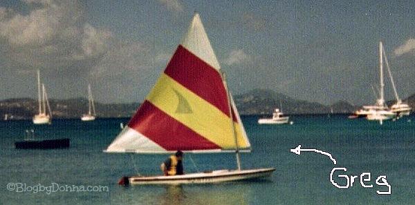 sailing caribbean virgin island st. John