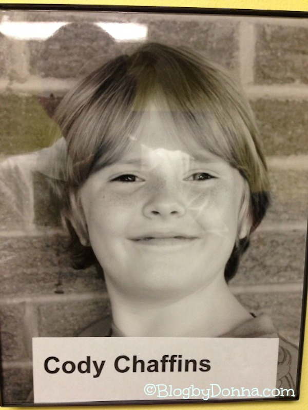 Your headshot from the wall of the box office at KCT