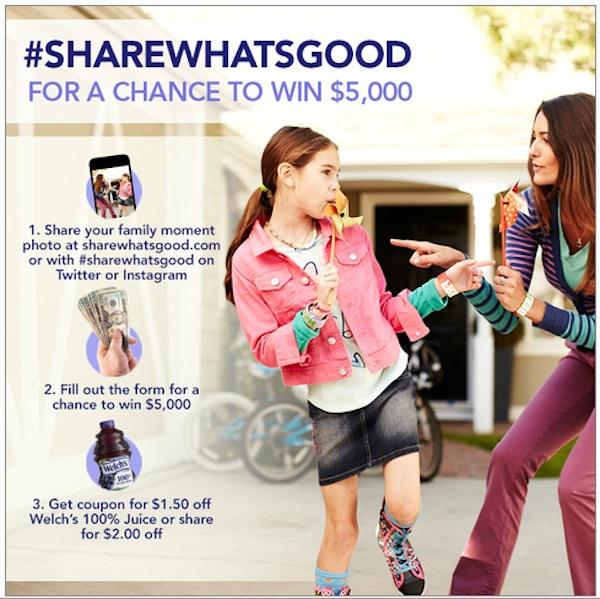 #ShareWhatsGood Contest Img