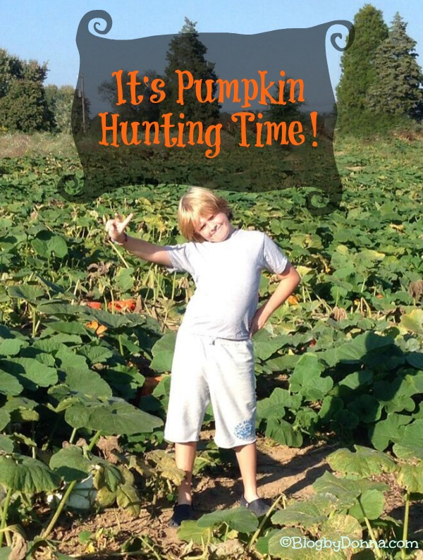 Cody in Pumpkin Patch