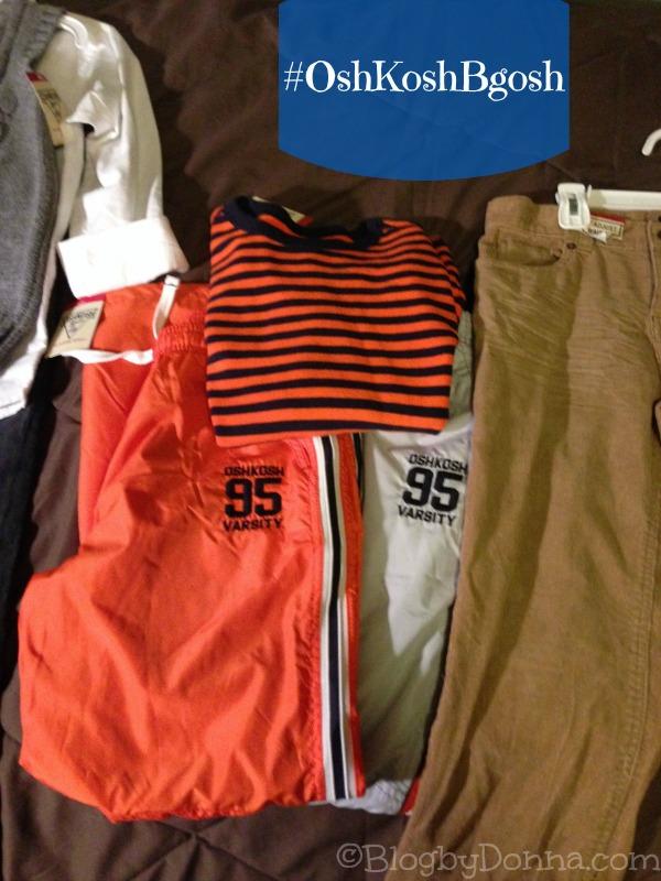 Holiday Shopping at OshKosh B'gosh Jumper pants and Cords