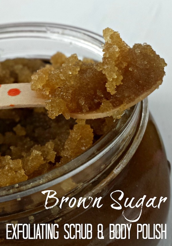 diy  homemade brown sugar body scrub