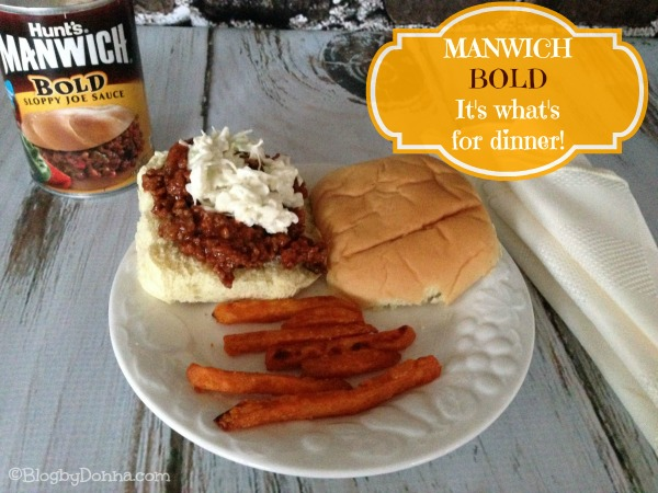 Manwich Bold Sloppy Joe Sauce for an easy dinner #Manwich