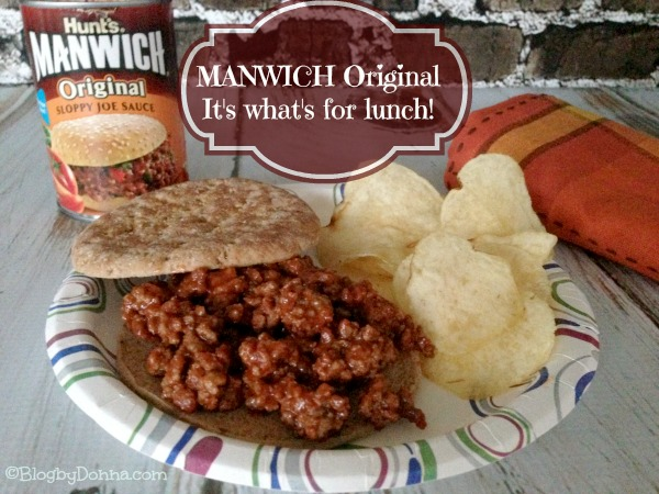 Manwich Original Sloppy Joe Sauce for an easy dinner #Manwich