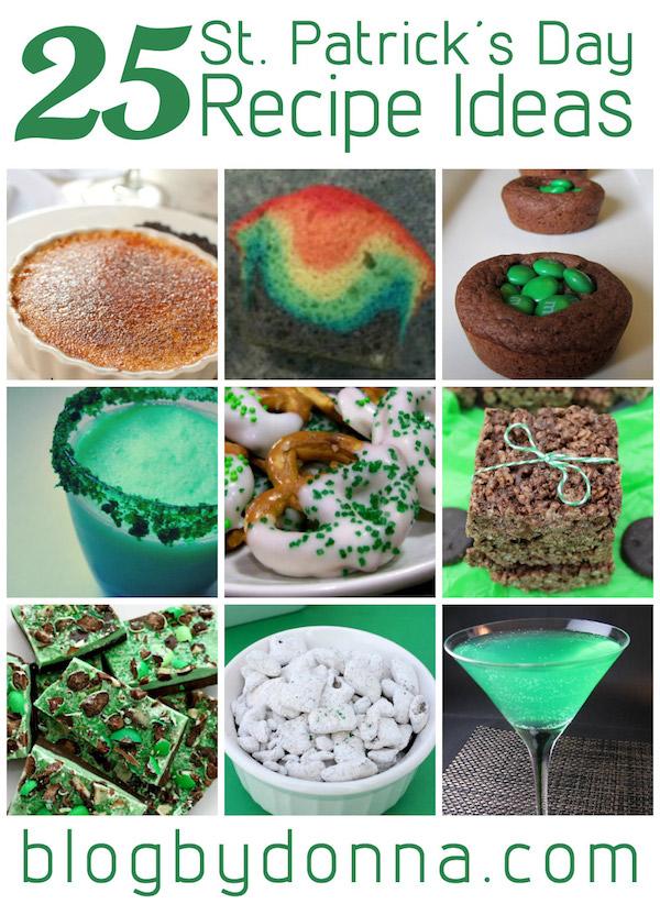 25 St. Patrick's Day Recipe Idea Collage