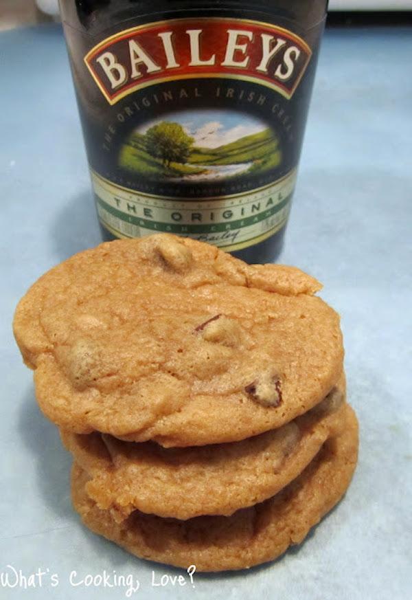 Irish coffee chocolate chip cookies via what's cooking love