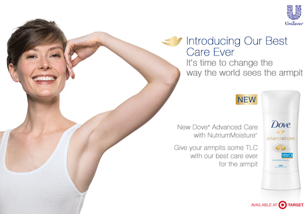 Dove Advanced Care with NutriumMoisture Deodorant Img 3