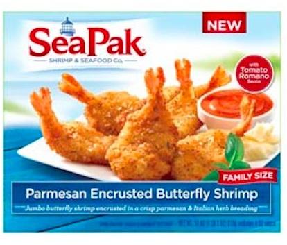 SeaPak parmesan-shrimp