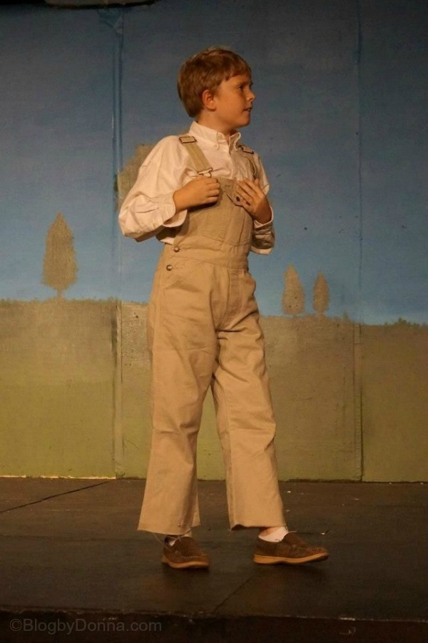 "Caleb in ""Sarah Plain and Tall"" at Knoxville Children's Theatre"