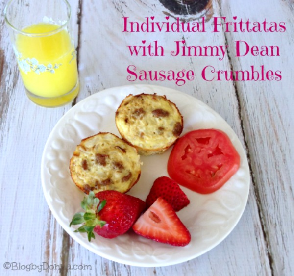 Individual Frittata Recipe #JDCrumbles Img 1