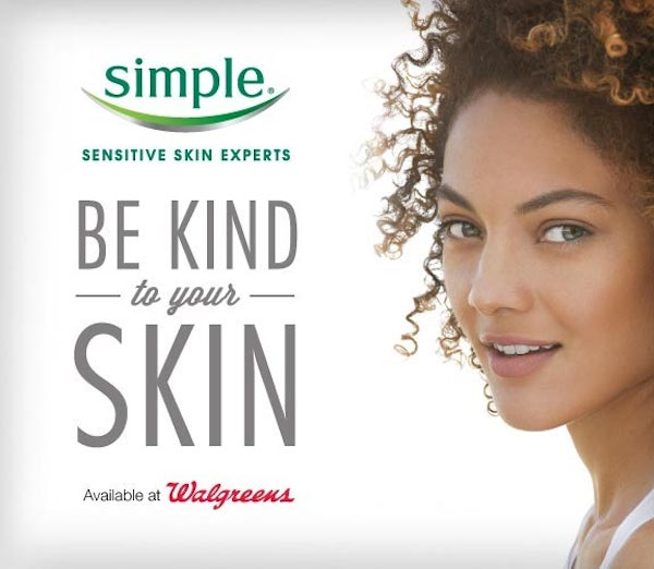 Simple Be Kind to Your Skin Simple Products at a Great Value for Beautiful Healthy Skin at Walgreens #spon