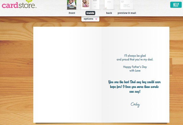 CardStore Father's Day Cards 14
