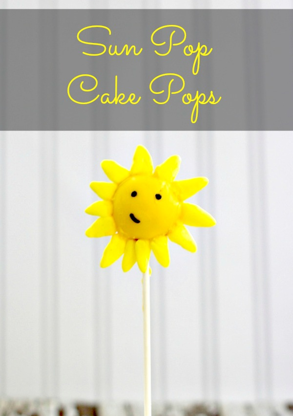 Easy Cake Pop Sun Pops How to Make Cake Pop Sun Pops