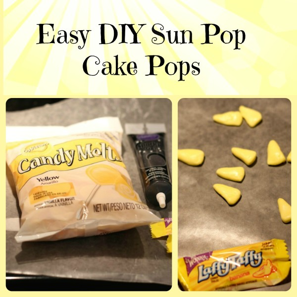 How to make Sun Pop Cake Pops 1 e1402062835916 How to Make Cake Pop Sun Pops