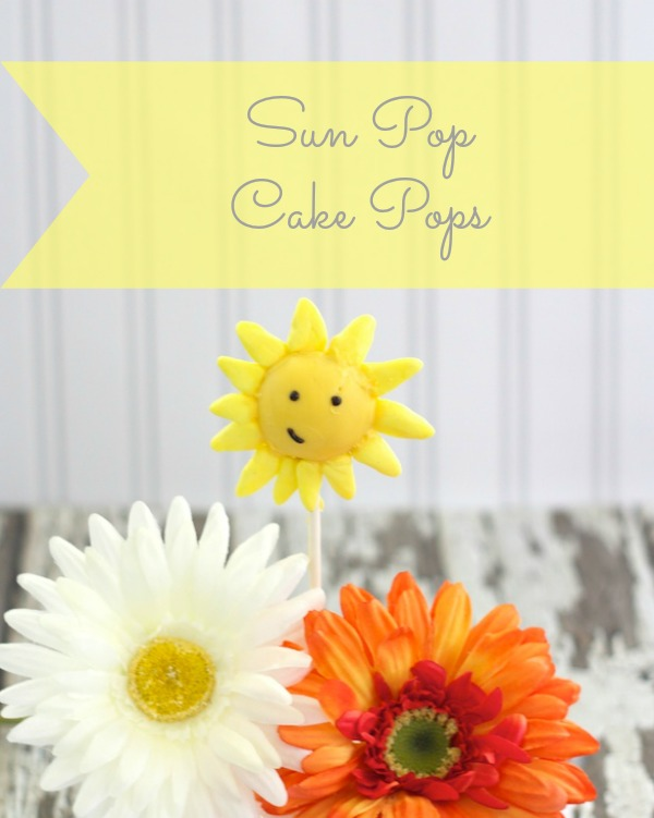 How to make a Sun Pop Cake Pop 2 How to Make Cake Pop Sun Pops