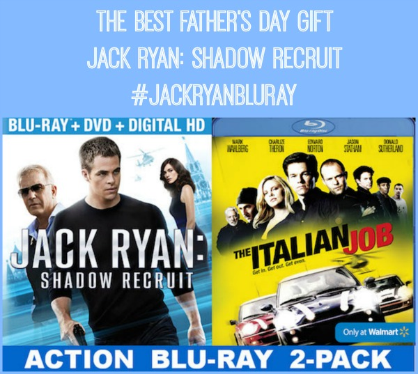 Jack Ryan Shadow Recruit Walmart Exclusive Blue Ray DVD shop JackRyanBlueRay CollectiveBias Best Fathers Day Gift   Jack Ryan: Shadow Recruit #JackRyanBluRay #CollectiveBias #shop