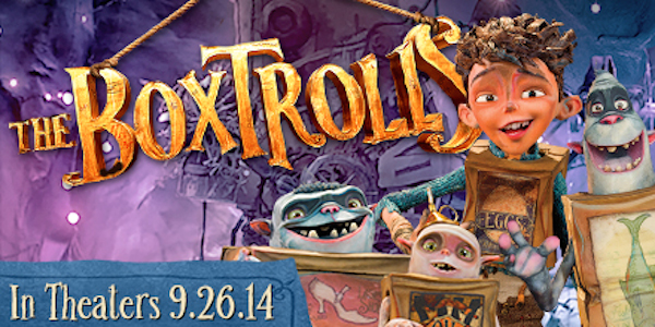 The Boxtrolls in theaters 9/16/2014 kids movie