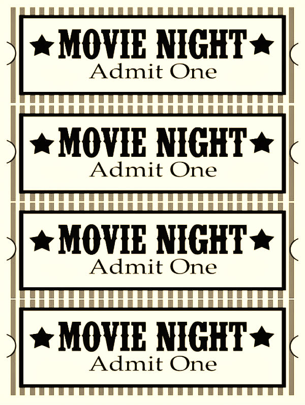 best movie snack movie ticket printables #zoursface #shop #cbias #collectivebias