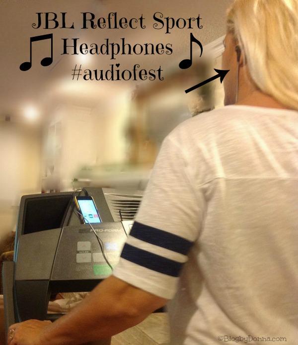 Sport headphones from JBL