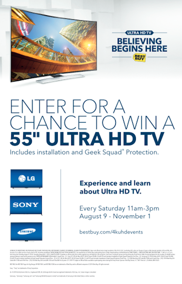 Ultra HD TV at Best Buy