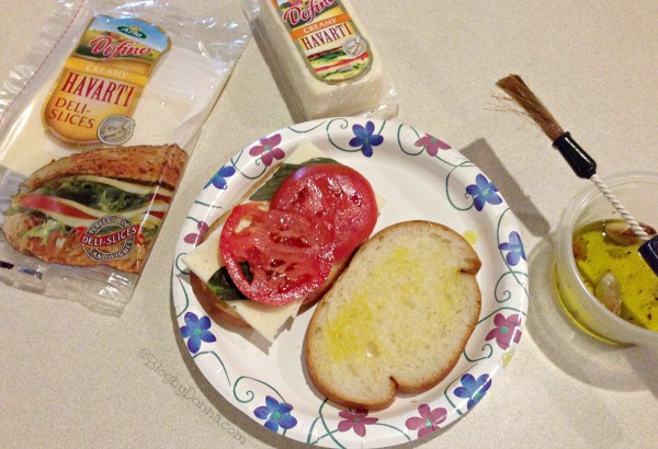 Havarti Panini after school snack #HavartiParty